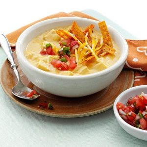Inspired by: Chicken Enchilada Soup from Chili's