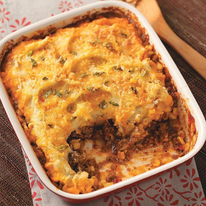 Southwestern Shepherd's Pie Recipe | Taste of Home