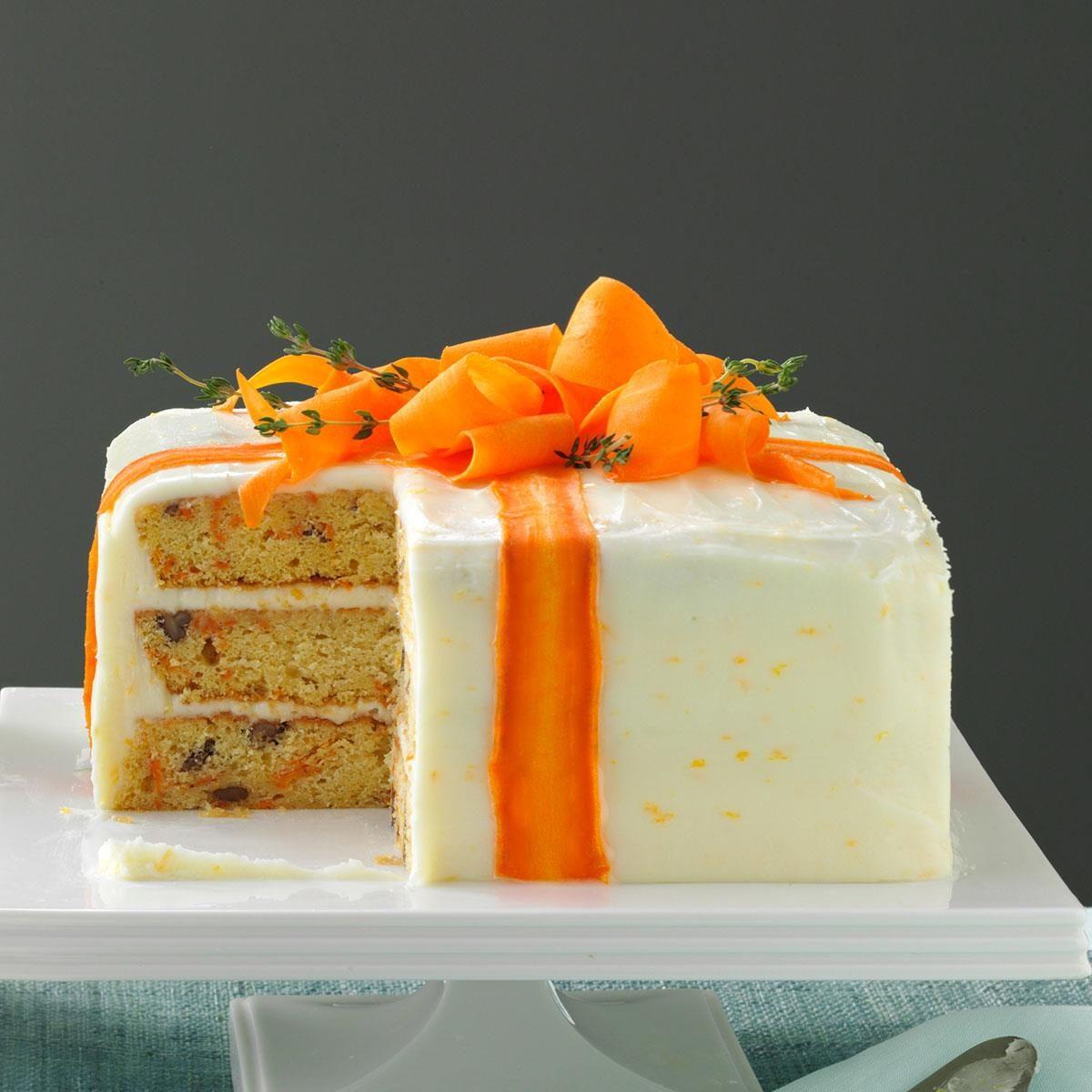 Three Layered Carrot Cake Recipe