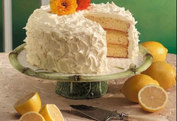 Triple Layer Lemon Cake Recipe Taste Of Home