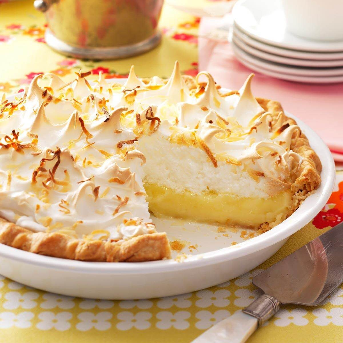 Favorite Coconut Meringue Pie Recipe Taste Of Home