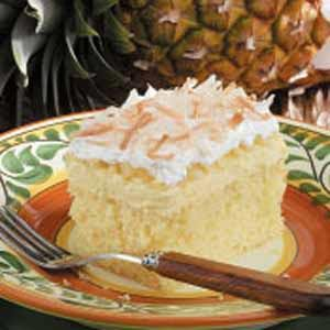 Hawaiian Wedding Cake Recipe   Taste of Home Hawaiian Wedding Cake