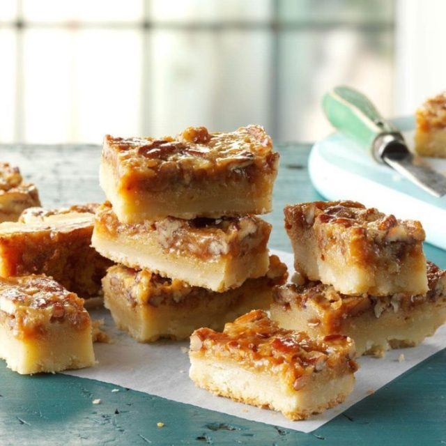 Pecan Pie Bars Recipe Photo By Taste Of Home