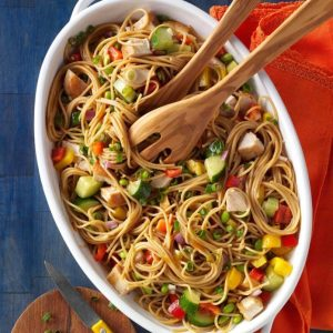 Gingered Spaghetti Salad