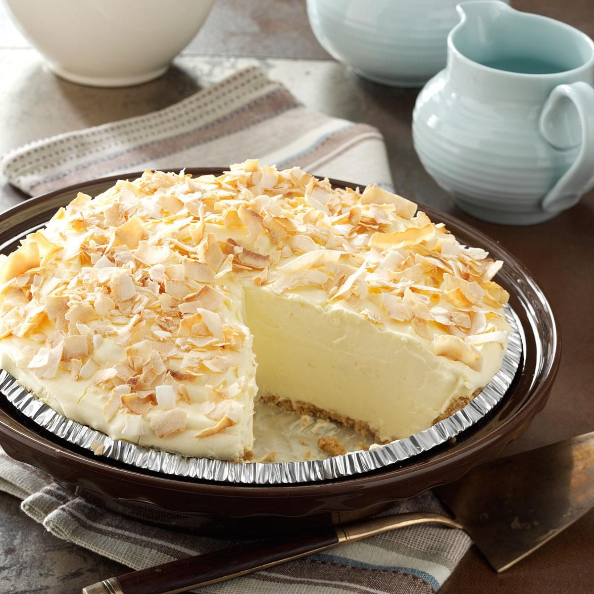 No Cook Coconut Pie Recipe Taste Of Home