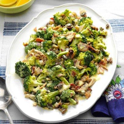 Fresh Broccoli Salad with Lemon
