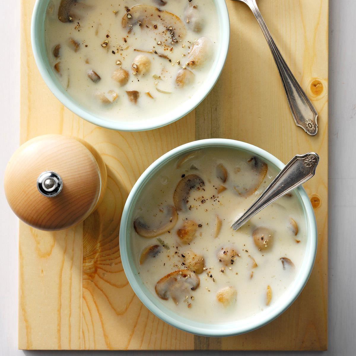 Fresh Order Mushroom Soup Recipe