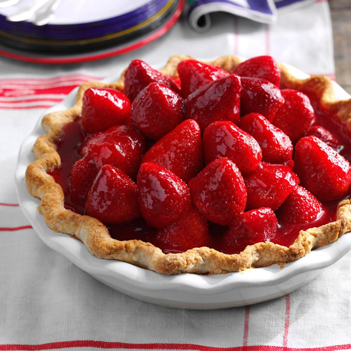 Best Ever Fresh Strawberry Pie Recipe Taste Of Home