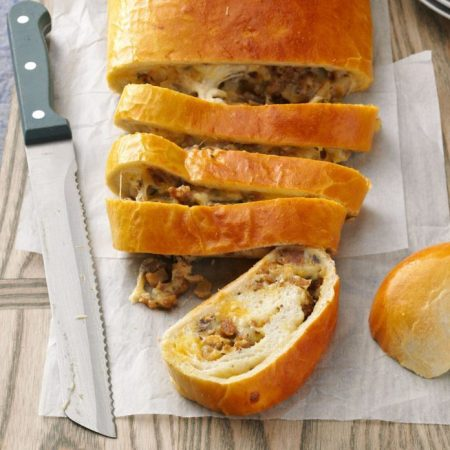 Breakfast Sausage Bread