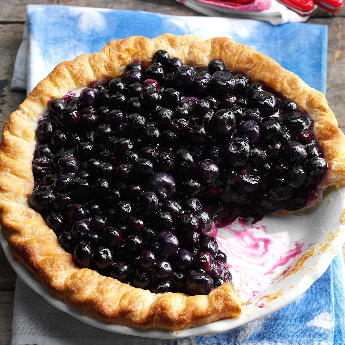 Cape Cod Blueberry Pie Recipe Taste Of Home
