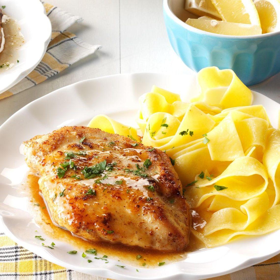 Quick Chicken Piccata Recipe | Taste of Home