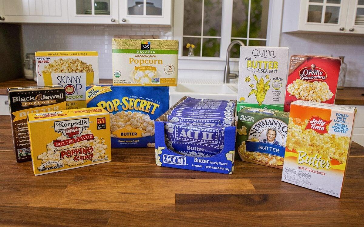brands to find the best popcorn taste