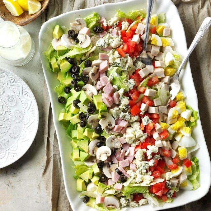 Classic Cobb Salad Recipe | Taste of Home