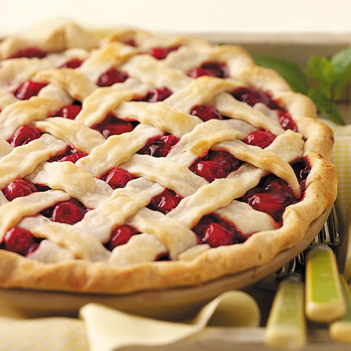 Fresh Cherry Pie Recipe Taste Of Home
