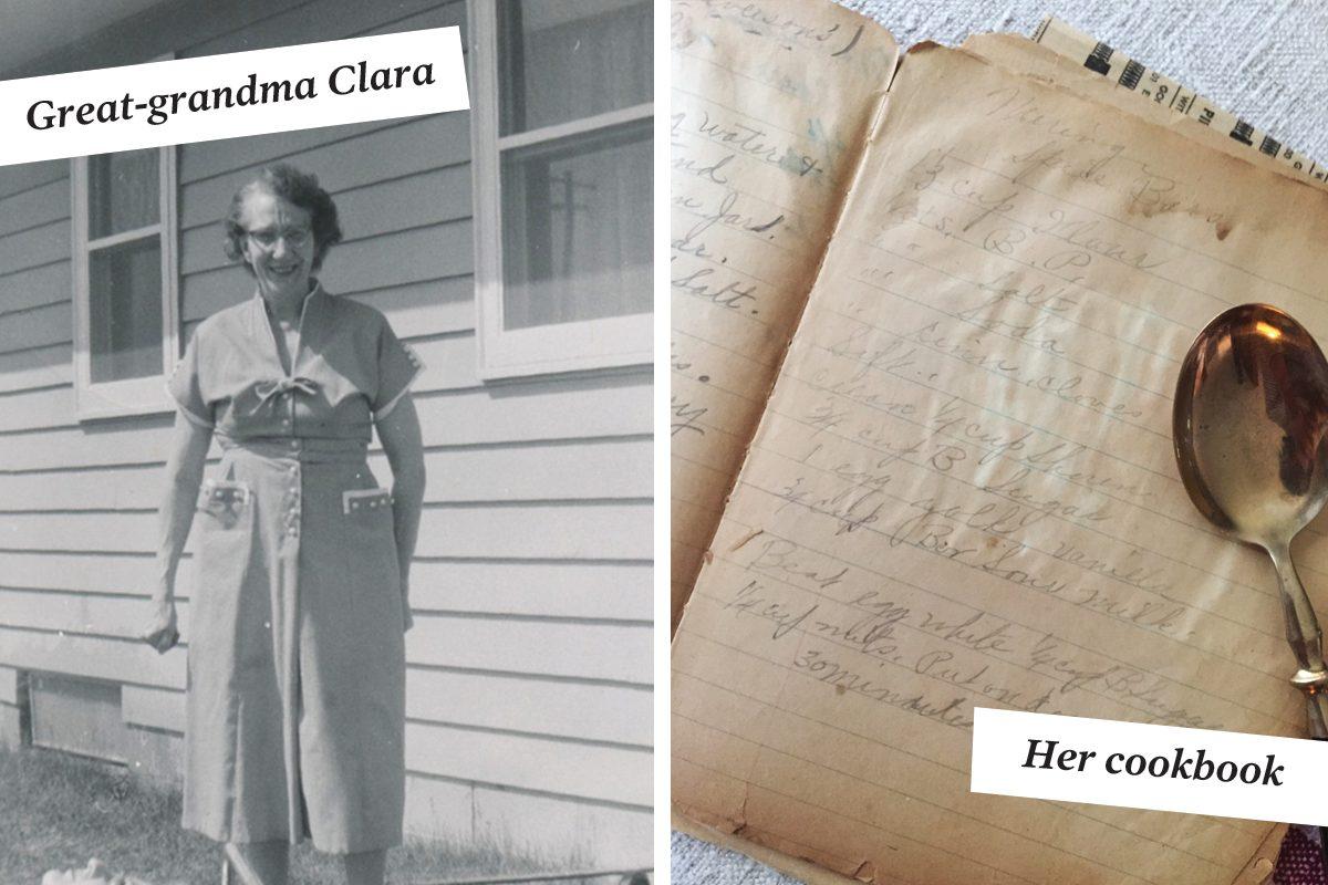 great-grandma clara and vintage spice bar recipe
