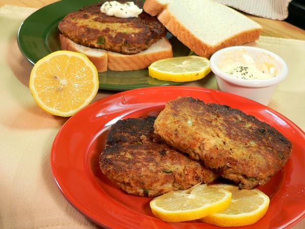 Salmon Patties With Cornmeal And Flour