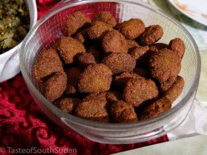 Sudanese Tamiya or falafel.