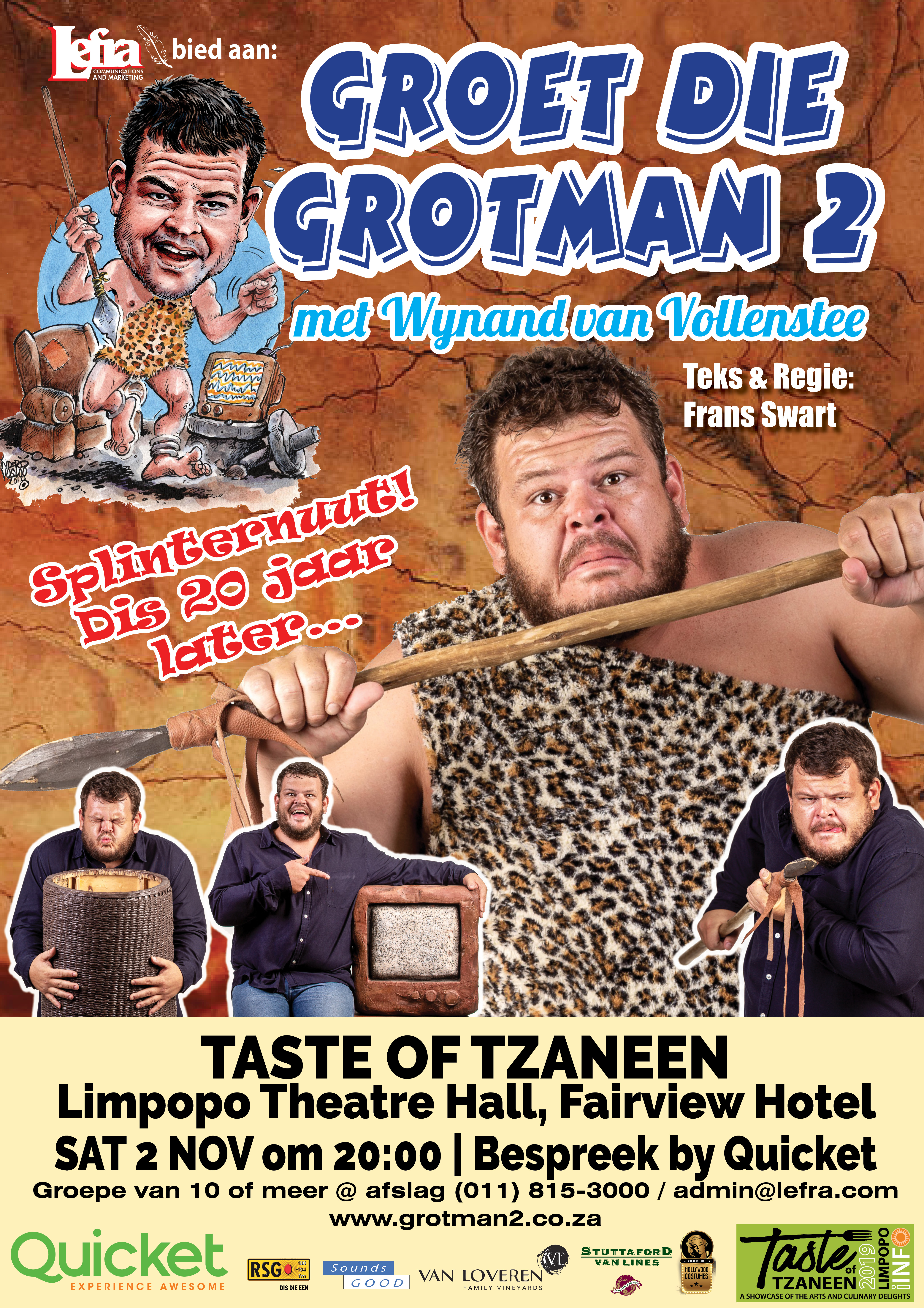 Grotman 2 A2 Taste of Tzaneen