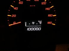 Now has over 140,000km