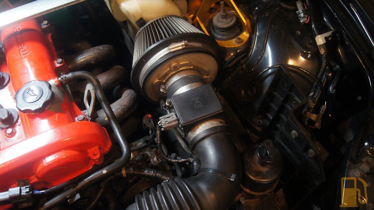 Mazda MX5 NB, MAF & Idle Valve Clean – Tastes Like Petrol