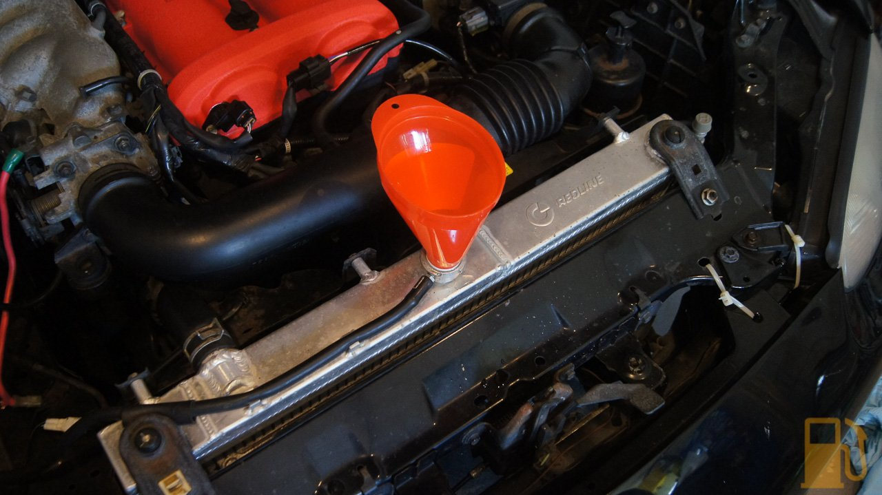 Mazda MX5 NB, Coolant Change – Tastes Like Petrol
