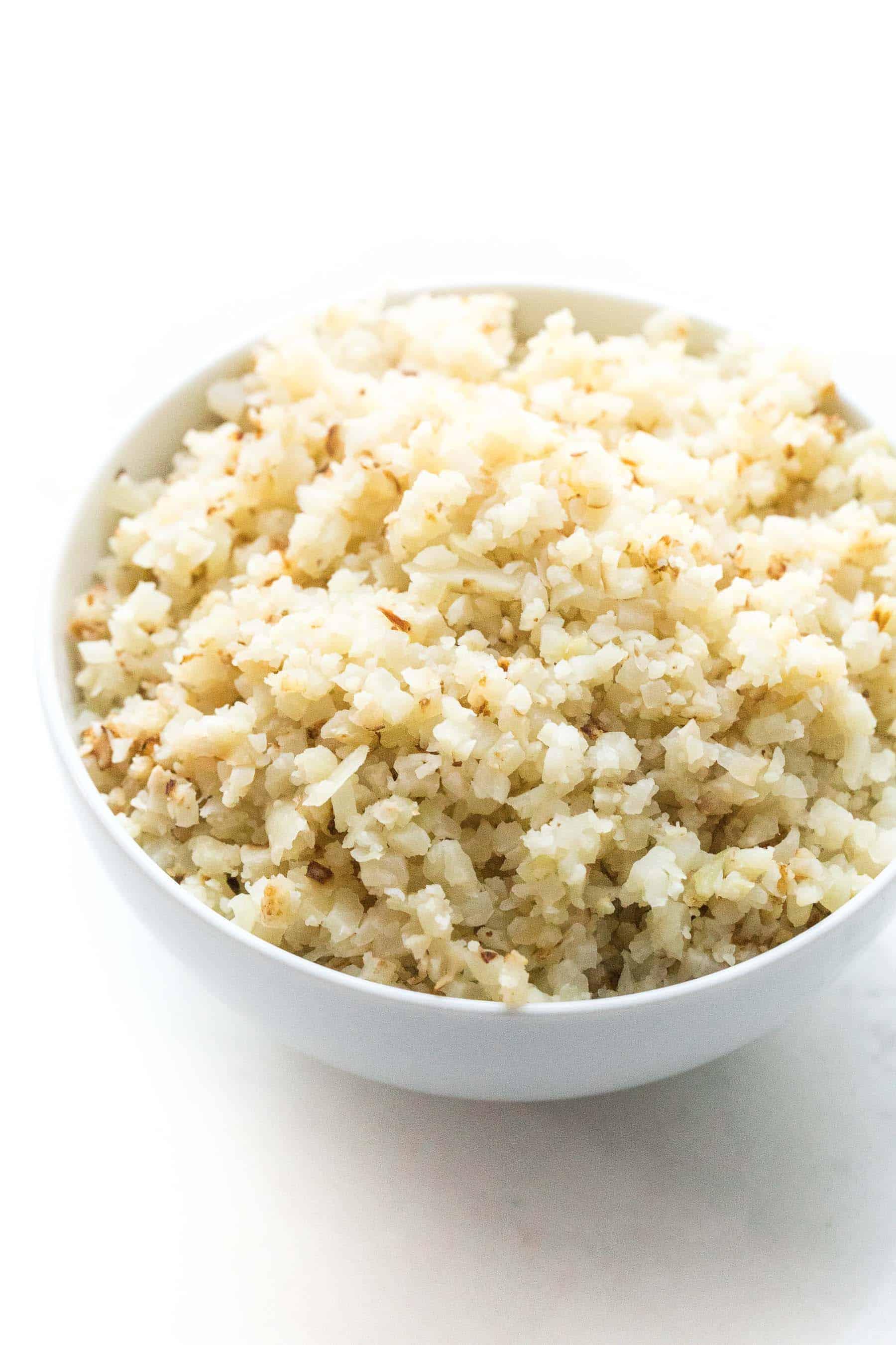 cauliflower rice hack tastes lovely