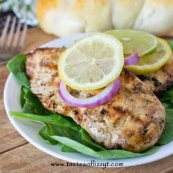 lemon lime garlic chicken dinner recipe