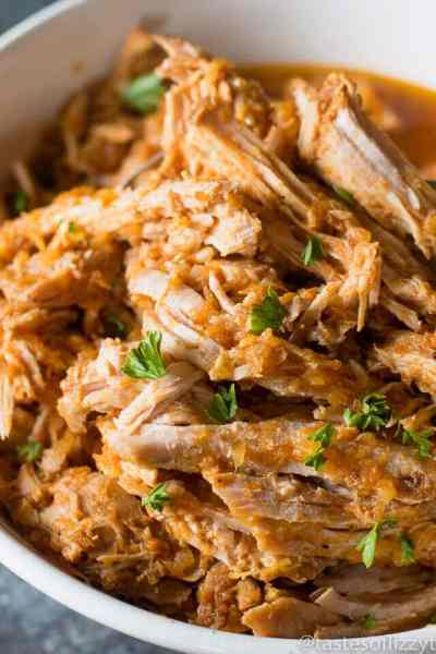 Barbecued Pulled Pork {No Sugar Added}