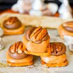 caramel-pretzel-turtles-easy-candy-recipe
