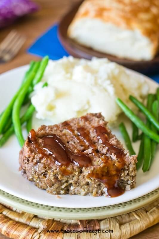 Slow Cooker Classic Meatloaf is made so simply with just 4 ingredients.