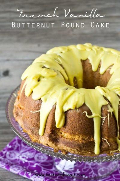 French Vanilla Butternut Pound Cake