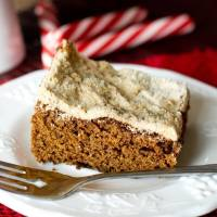 Glorified Gingerbread Cake Recipe {with Crumb Streusel Topping}