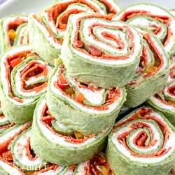 pepperoni pinwheels appetizer