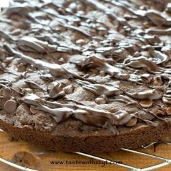 Mocha Chocolate Chip Cookie Pie Recipe - Tastes of Lizzy T