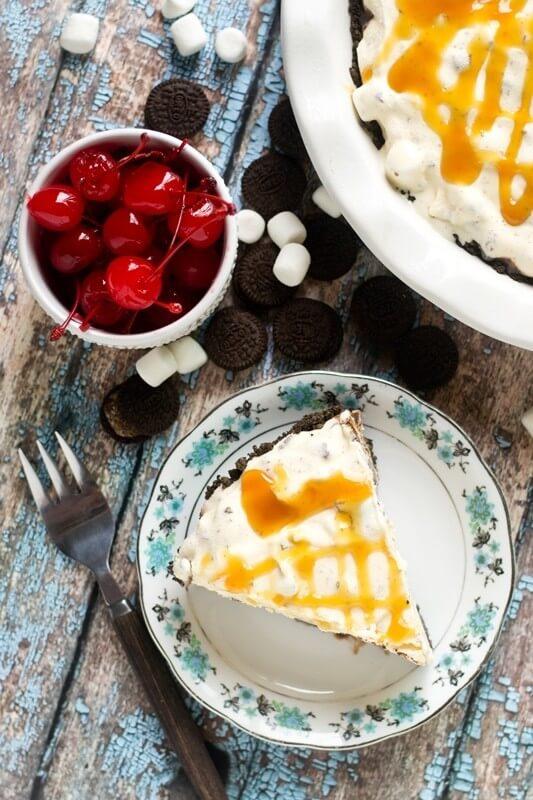 Ultimate Ice Cream Pie Recipe - Tastes of Lizzy T