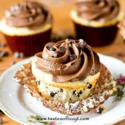 Dark Chocolate Buttercream Frosting Recipe - Tastes of Lizzy T