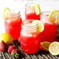 Quick and refreshing, this Sparkling Strawberry Punch is festive and can be served at showers, picnics, on holidays, or just on a hot summer, afternoon.