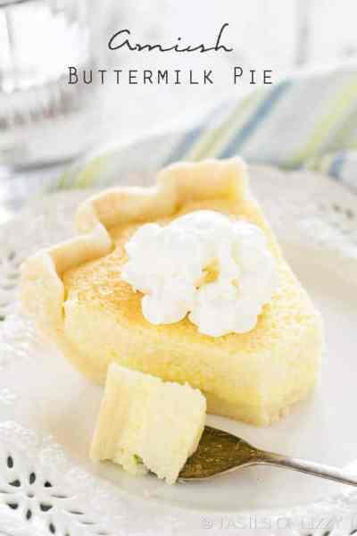 Amish Buttermilk Pie