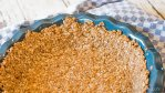 easy oatmeal pie crust for cream pies