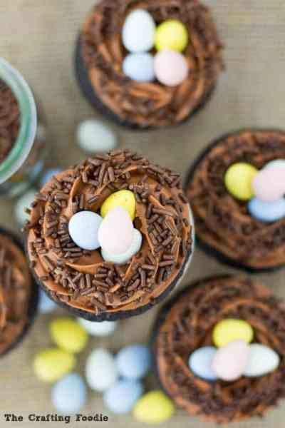 Robin's Nest Cupcakes