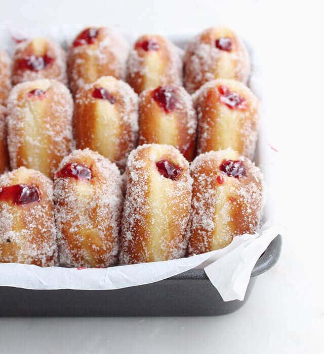 raspberry-filled-donuts
