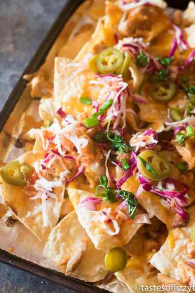 Firecracker Chicken Nachos