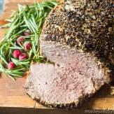 Peppercorn Roast Beef recipe