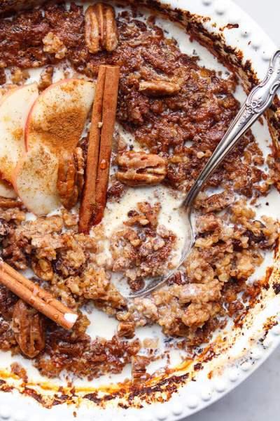 Vanilla Chai Baked Oatmeal