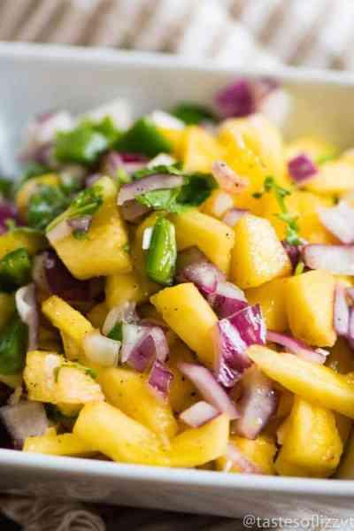 Pineapple Jalapeno Salsa