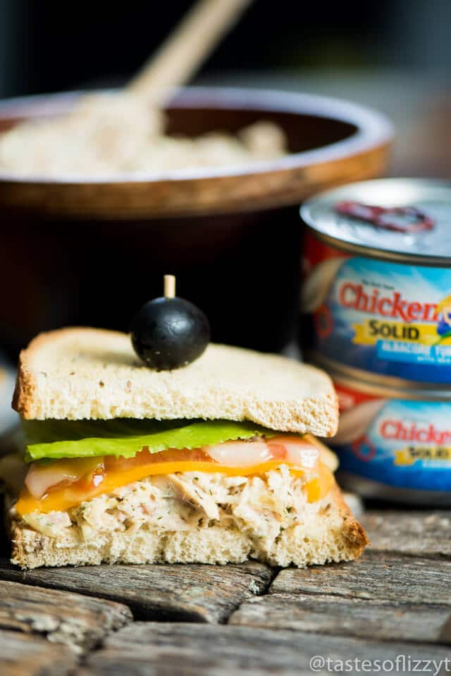 Three Cheese Tuna Melt Recipe
