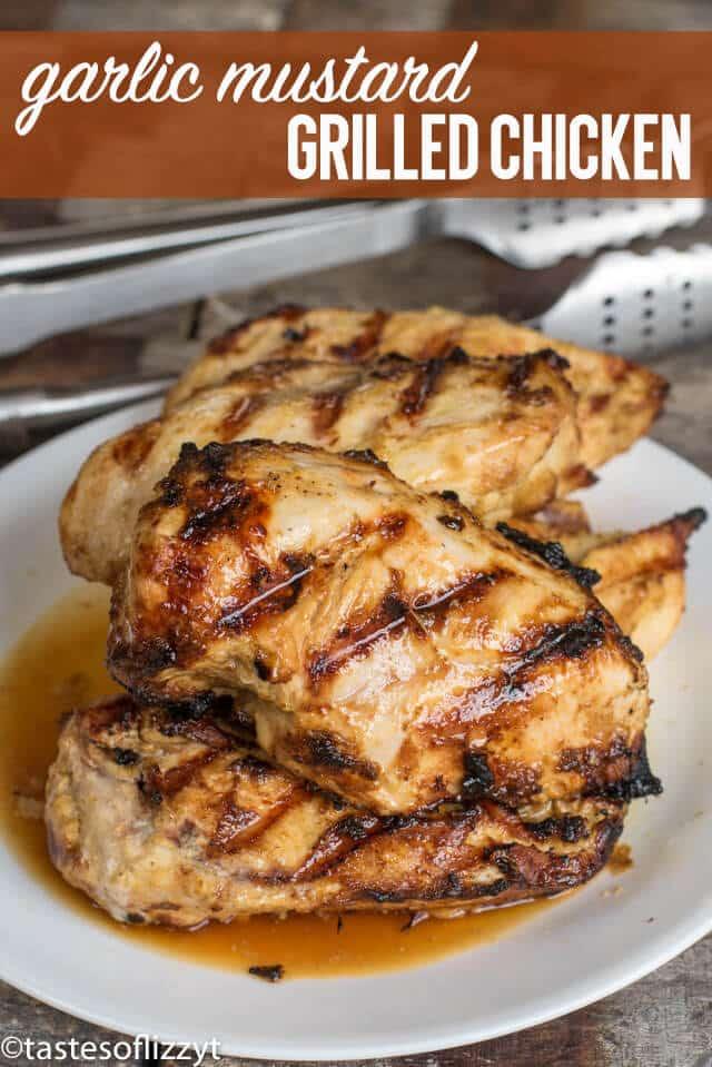 Garlic Mustard Chicken An Easy Healthy Chicken Marinade Recipe