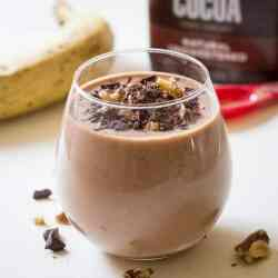 Chocolate Banana Bread Smoothie