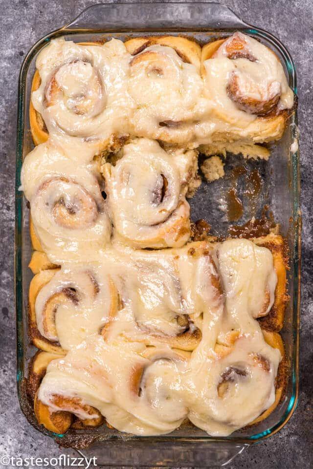 Homemade Cinnamon Rolls {Secret Ingredient} | Tastes of