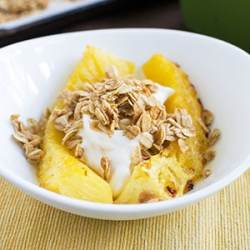 Maple Roasted Pineapple